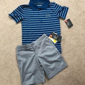 Under armour outfit NWT boys size 6